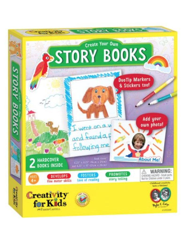 creativity for kids CK Create Your Own Story Books