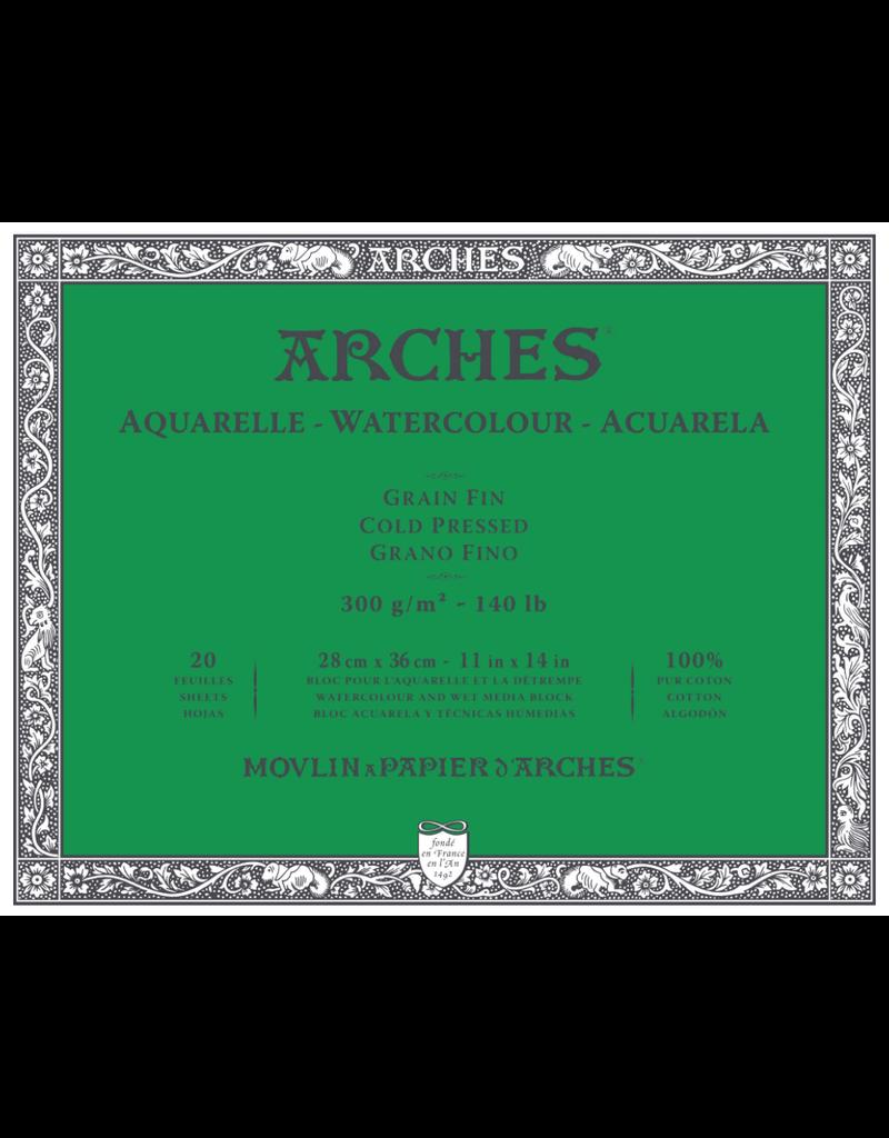 arches Arches 11x14 Watercolor Pad 140lb