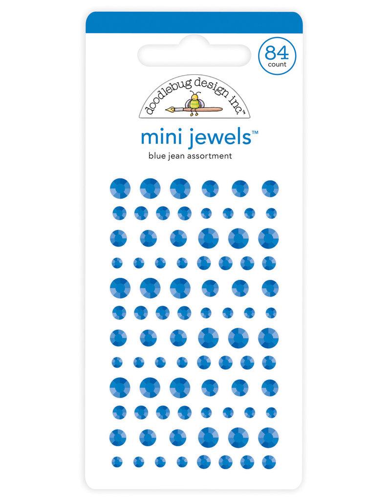 DOODLEBUG Doodlebug blue jean mini jewels