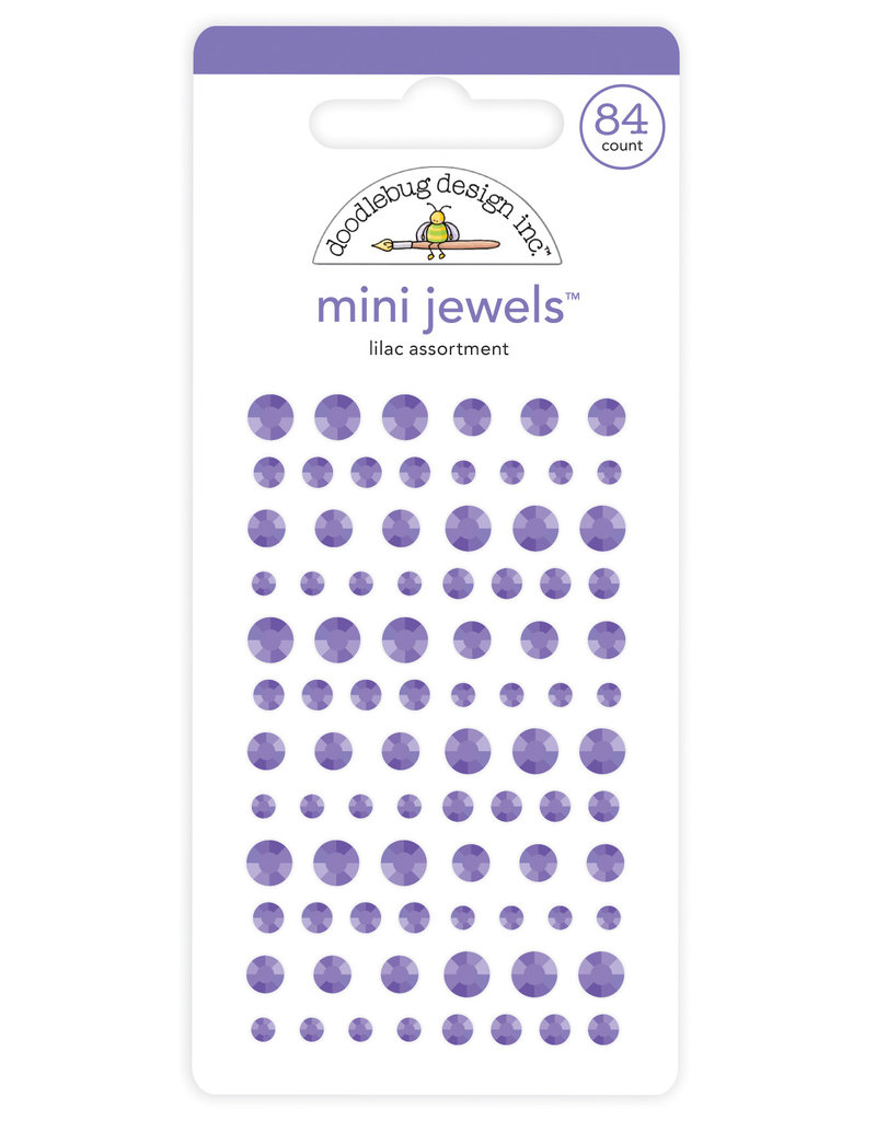 DOODLEBUG Doodlebug lilac mini jewels