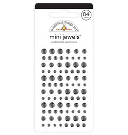 DOODLEBUG Doodlebug beetle black mini jewels