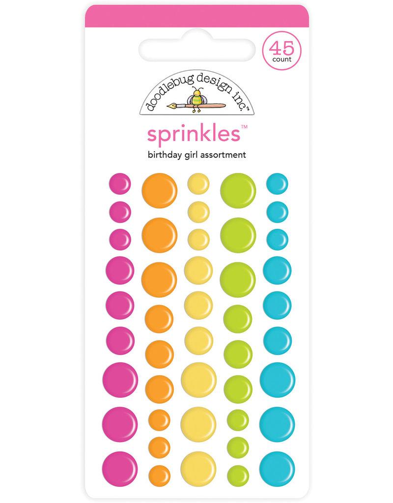 DOODLEBUG Doodlebug birthday girl assortment sprinkles