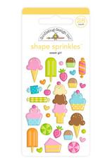 DOODLEBUG Doodlebug sweet girl shape sprinkles