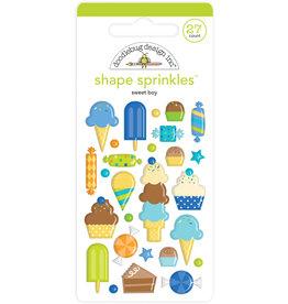 DOODLEBUG Doodlebug sweet boy shape sprinkles