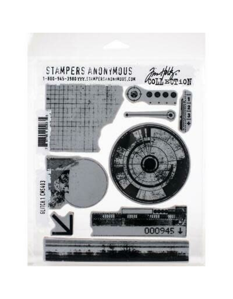stampers anonymous SA TH Glitch 1 Stamp