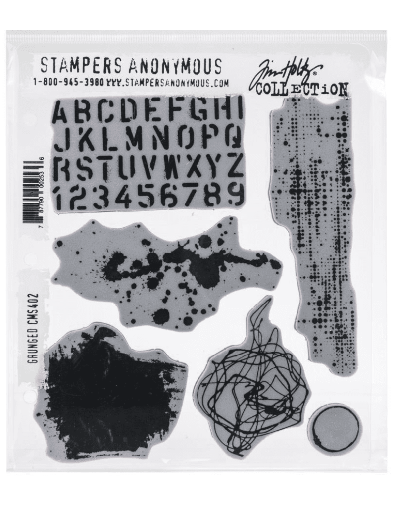 stampers anonymous SA TH Grunged Stamp