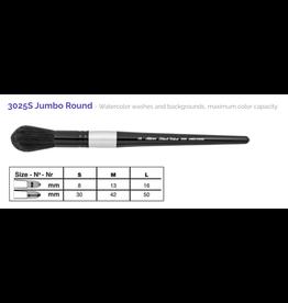 Silver Brush SB Black Velvet 3025S Jumbo Round