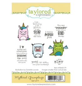Taylored expressions TE Mythical Grumplings Stamp