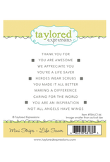Taylored expressions Mini Strips - LIFE SAVER STAMP