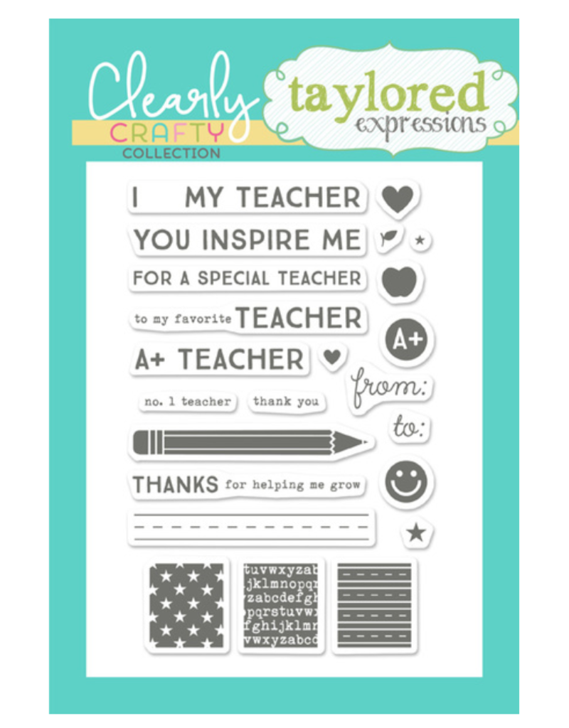Taylored expressions Tag Team: Teacher