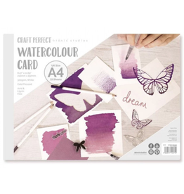 angora Watercolor Card Pad A4