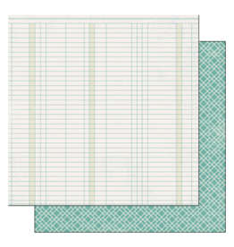 scrapbook customs COVID-19 Graph double sided paper