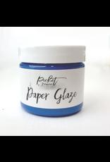 picket fences Paper Glaze Cornflower Blue