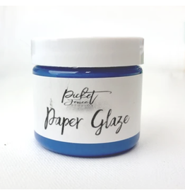 picket fences Paper Glaze Cornflower Blue