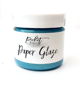 picket fences Paper Glaze Ocean Poppy