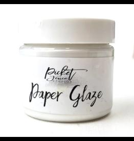 picket fences Paper Glaze Snowdrop White