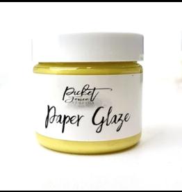 picket fences Paper Glaze Daffodil Yellow