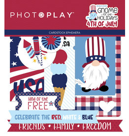 Photoplay Gnome for July 4th  Ephemera