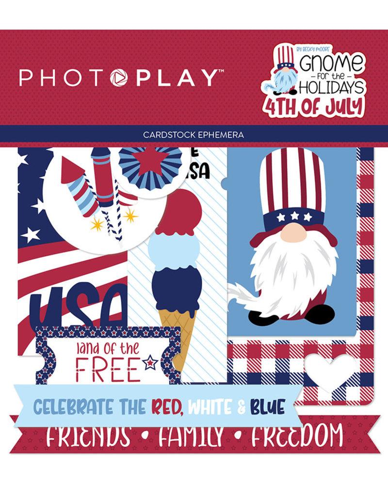 Photoplay Gnome for July 4th  Ephemera