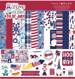 Photoplay Gnome for July 4th Collection Pack