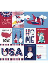 Photoplay Gnome for July 4th Paper: All American