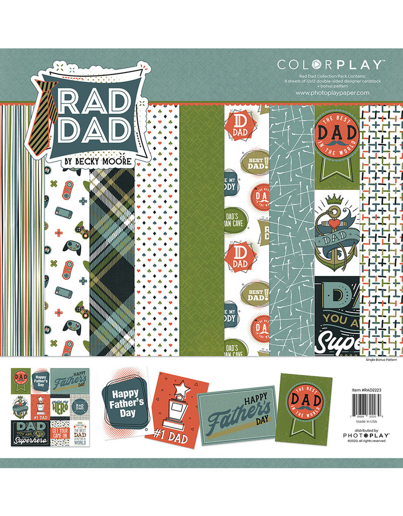 Photoplay Rad Dad Paper Pack