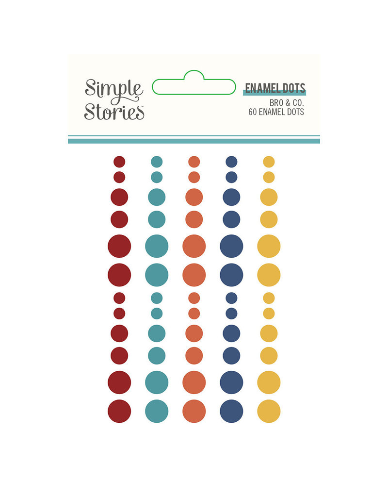 simple stories SS Enamel Dots - Bro & Co