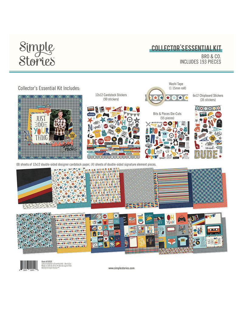 simple stories SS Essential Kit Bro & Co.