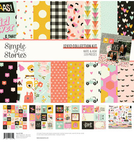 simple stories SS Collection Kit Kate & Ash
