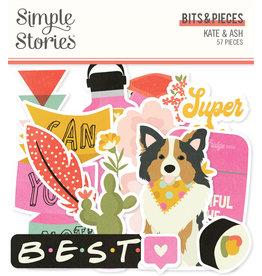 simple stories SS Bits & Pieces Kate & Ash