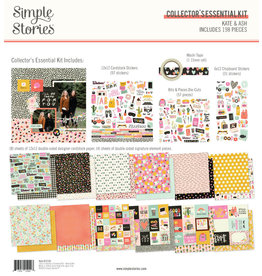 simple stories SS Essential Kit Kate & Ash