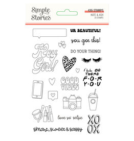 simple stories SS Stamps Kate & Ash