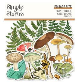 simple stories SS Foliage Bits & Pieces SV Great Escape