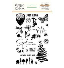 simple stories SS Stamps SV Great Escape
