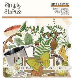 simple stories SS Bits & Pieces SV Great Escape