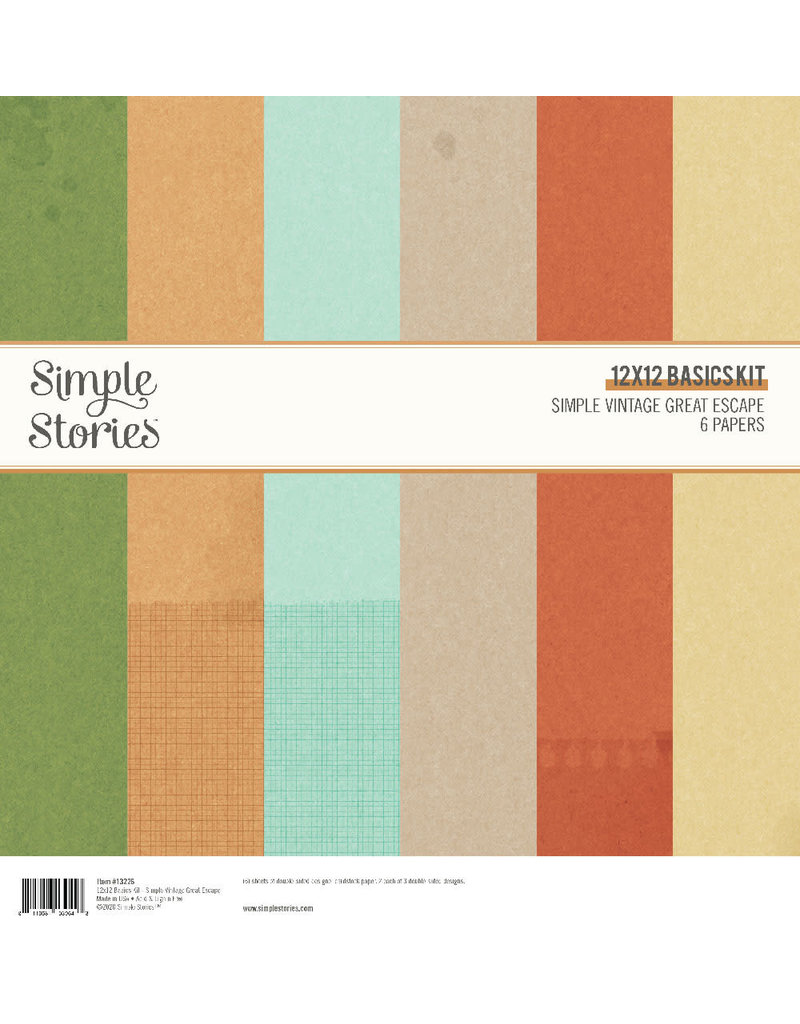 simple stories SS Basics Kit  SV Great Escape