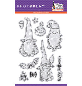 Photoplay Gnome for Halloween 4x6 Stamp