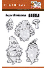 Photoplay Gnome for Thanksgiving 4x6 Stamp