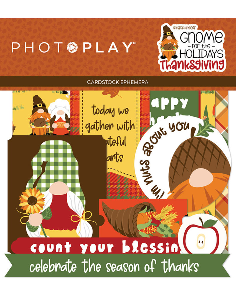 Photoplay Gnome for Thanksgiving Paper: Ephemera