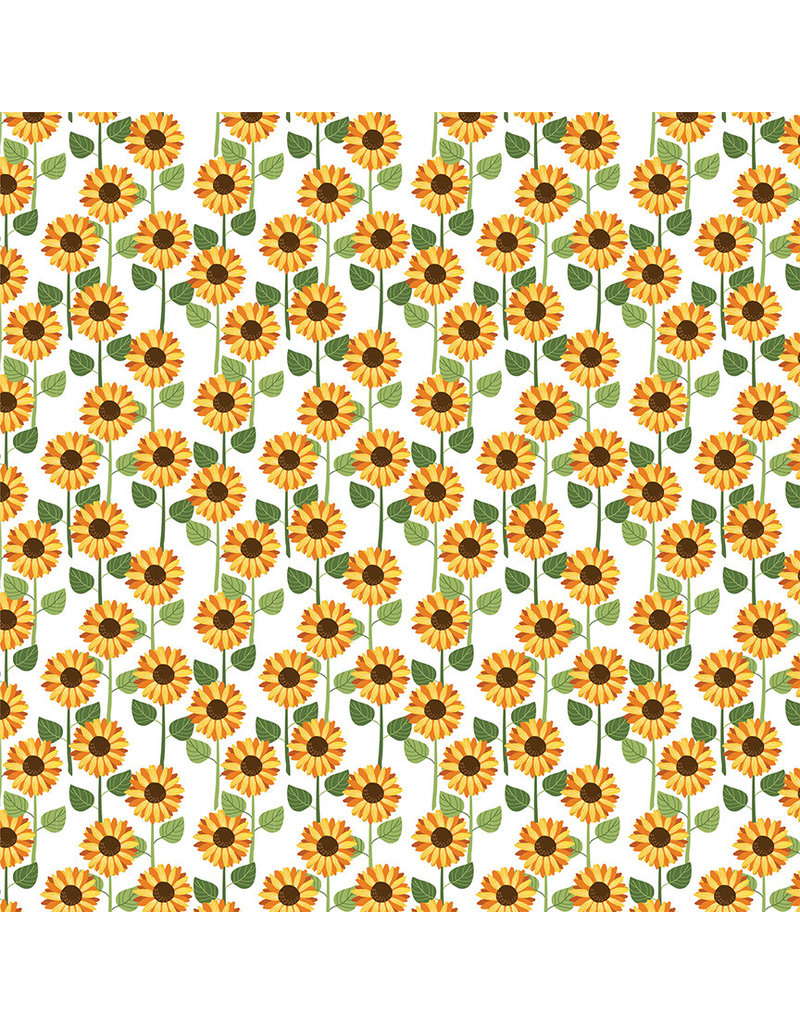 Photoplay Gnome for Thanksgiving Paper: Sunflowers