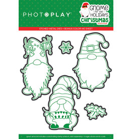 Photoplay Gnome for Christmas Die Set