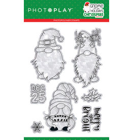 Photoplay Gnome for Christmas 4x6 Stamp
