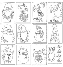 Photoplay Gnome for Christmas Paper: Color Me