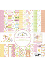 DOODLEBUG bundle of joy: bundle of joy 12x12 paper pack