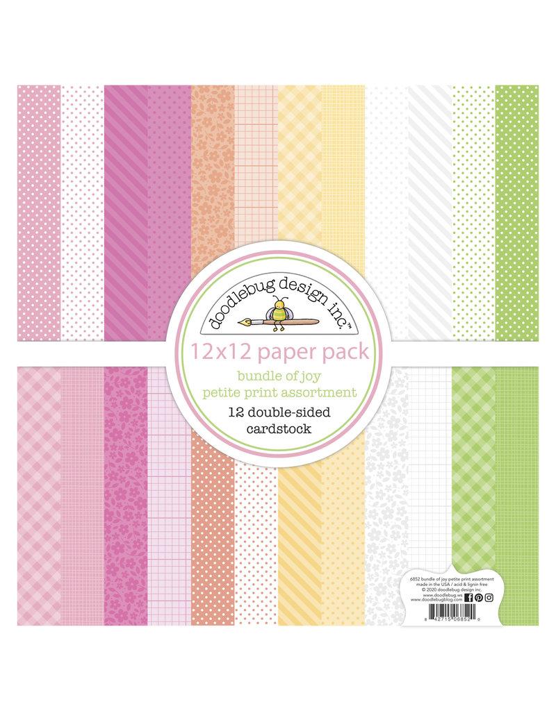 DOODLEBUG bundle of joy: bundle of joy petite print assortment pack