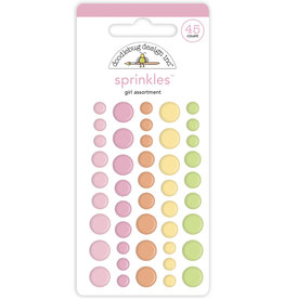 DOODLEBUG bundle of joy: baby girl assortment sprinkles