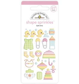 DOODLEBUG bundle of joy: bath time shape sprinkles
