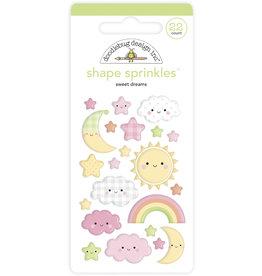 DOODLEBUG bundle of joy: sweet dreams shape sprinkles