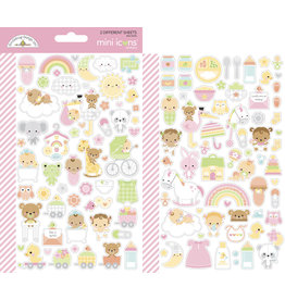 DOODLEBUG bundle of joy: bundle of joy mini icons sticker