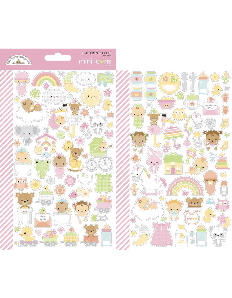 DOODLEBUG bundle of joy: bundle of joy mini icons sticker